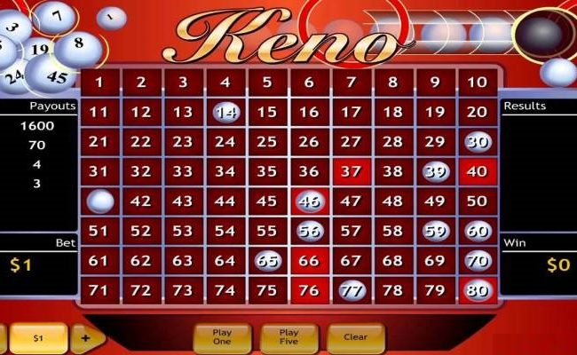 What You Need to Know About Online Keno